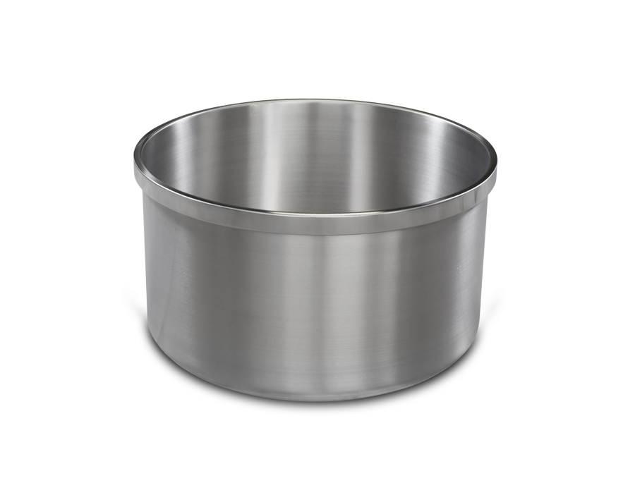 VASCA PER IMPASTATRICE A BRACCIA TUFFANTI - BOWL FOR ARMS MIXER - Satinox srl
